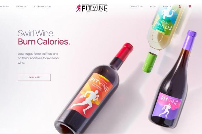 "FitVine says its wines are for people seeking a ""active, healthy lifestyle""."