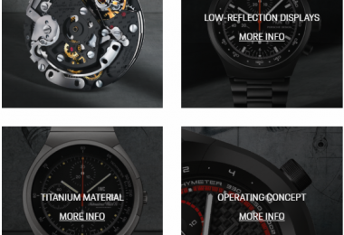 Porsche is also a watchmaker