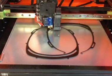 The Torres' 3D printer is creating headbands