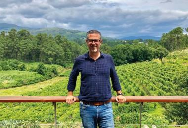 Andre Ribeirinho, founder, Adegga and Portugal Wine Week