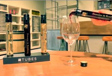 Wine in tubes
