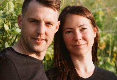 Bianka and Daniel Schmitt, winemakers, Rheinhessen