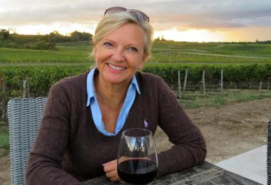 Sally Evans, wine producer, Bordeaux